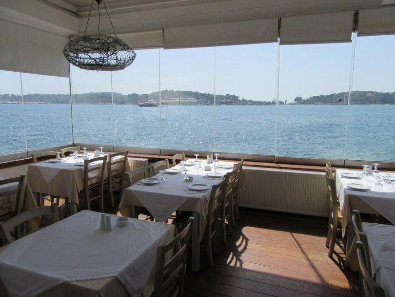 εστιατόρια με θέα θάλασσα