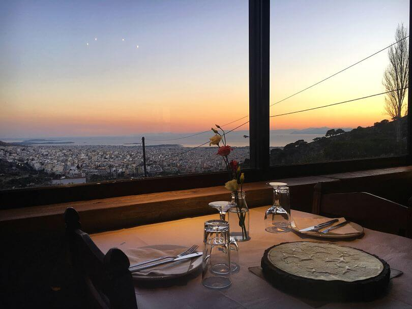 εστιατόρια με χειμερινή θέα