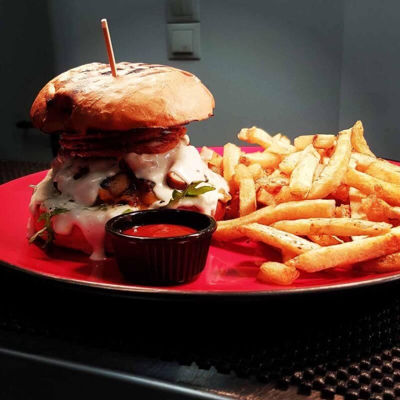 burger στην Αθήνα