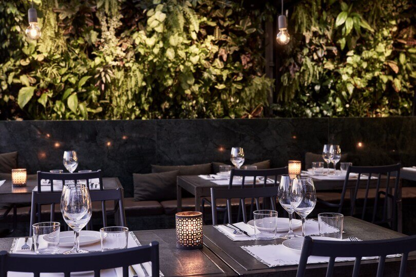The Zillers Roof Garden Central Athens Contemporary Greek Cuisine