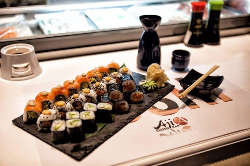 Aji sushi bar info and reviews for the restaurant for Aji 53 japanese cuisine
