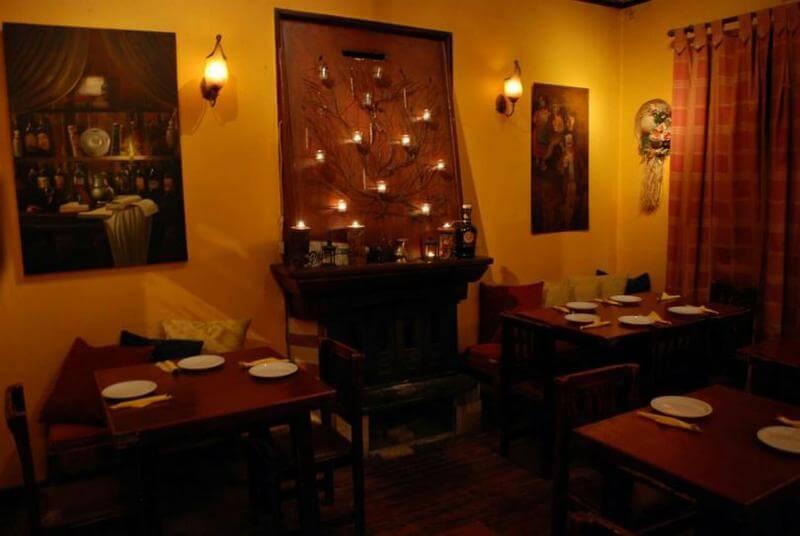 εστιατόρια με τζάκι