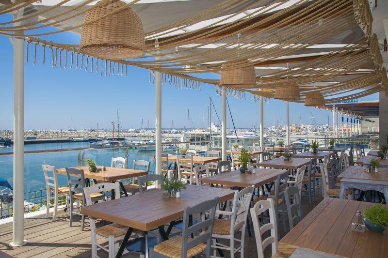 εστιατόρια στο Παλιό Λιμάνι της Λεμεσού
