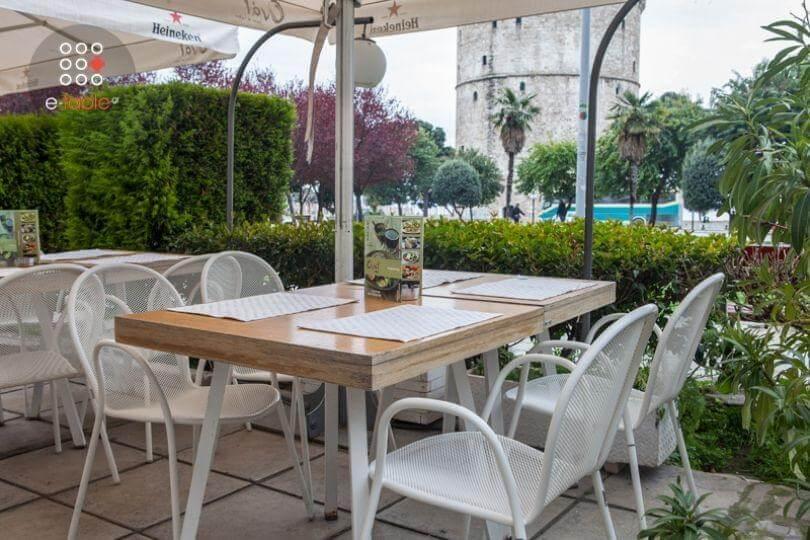 εστιατόρια με θέα στο κέντρο Θεσσαλονίκης
