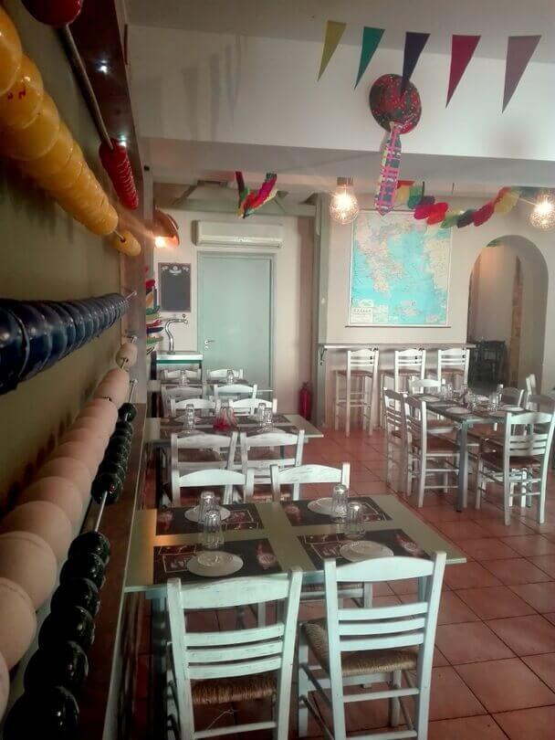 contemporary greek restaurant decor modern minimalist home design rh ebaiagbjob bdclab store