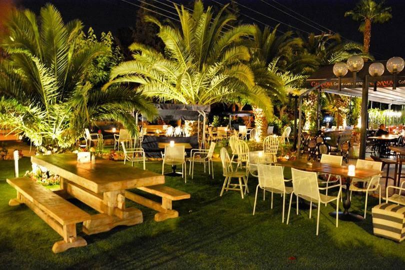 εστιατόρια με αυλή στα νότια προάστια