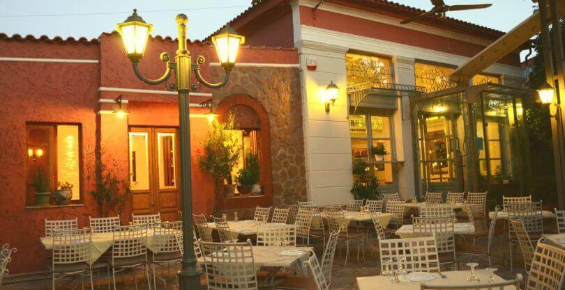 εστιατόρια με κήπο στην Κηφισιά